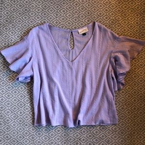 Universal Thread embroidered top Lavender